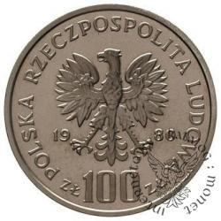 100 złotych - Kochanowski głowa