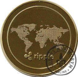 RIPPLE 1 XRP (stal miedziowana)