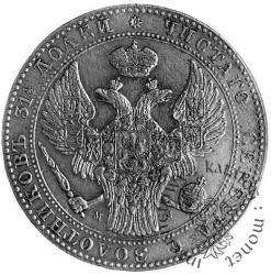 1 1/2 rubla - 10 złotych M-W