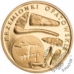 2 złote - krzemionki opatowskie