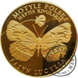 10 motylków / Pasyn lucylla (XI emisja - mosiądz patynowany)