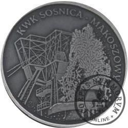 Kopalnia Sośnica - Makoszowy - Barbórka 2011 (Ag oksydowane)