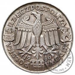 100 złotych - Mieszko i Dąbrówka - głowy (bok gładki)