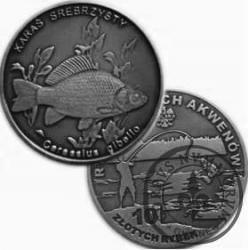 10 złotych rybek (alpaka oksydowana) - XVIII emisja / KARAŚ SREBRZYSTY