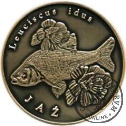 10 złotych rybek (alpaka oksydowana) - XXXVI emisja / JAŹ