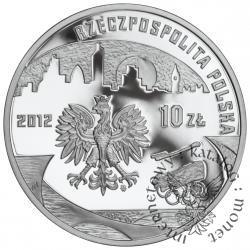 10 złotych - polska reprezentacja olimpijska Londyn 2012