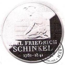 10 euro -   225 rocznica urodzin Karla Friedricha Schinkela