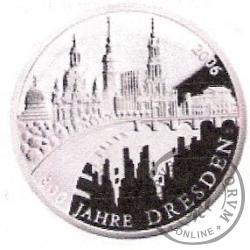 10 euro -  800 - lecie Drezna