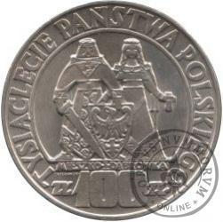 100 złotych - Mieszko i Dąbrówka