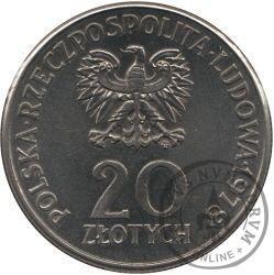 20 złotych - pierwszy Polak w kosmosie