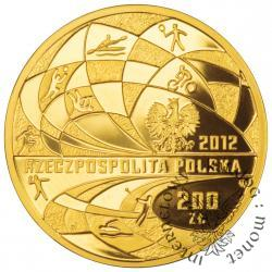 200 złotych - polska reprezentacja olimpijska Londyn 2012