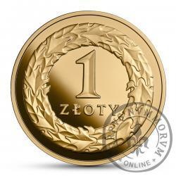 1 złoty - 100. rocznica odzyskania przez Polskę niepodległości