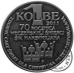 1 kolbe - ROK KOLBIAŃSKI (Ag oksydowane)