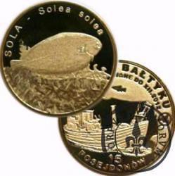 15 posejdonów - SOLA (VII emisja - mosiądz)