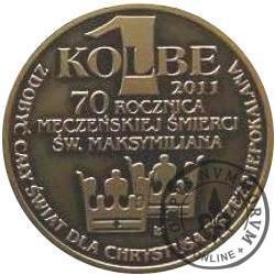 1 kolbe - ROK KOLBIAŃSKI (mosiądz oksydowany)