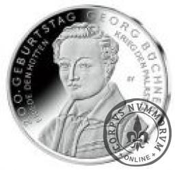 10 euro -  200. rocznica urodzin Georga Büchnera