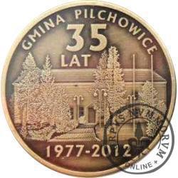 35. lecie Gminy Pilchowice (mosiądz oksydowany)