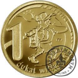 1 dukat wislański (mosiądz)