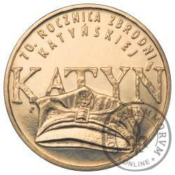 2 złote - 70. rocznica zbrodni katyńskiej - Katyń