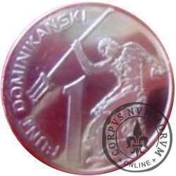 1 funt dominikański (II emisja)