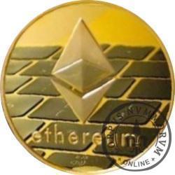 Ethereum ETH (miedź pozłacana)