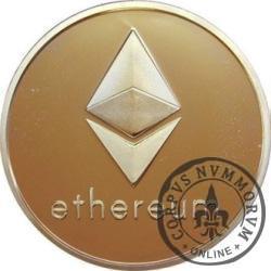 Ethereum (miedź pozłacana)