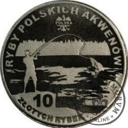 10 złotych rybek (alpaka) - LII emisja / SŁONECZNICA