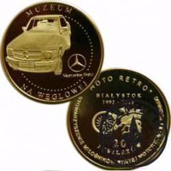20 jubilatów / MERCEDES-BENZ 500 SEC W126 - Ślicznotka (III emisja - mosiądz)