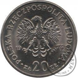 20 złotych - Nowotko
