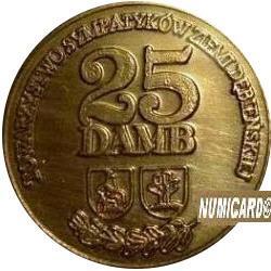 25 damb (mosiądz lakierowany)