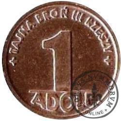 1 adolf (II emisja - miedź)