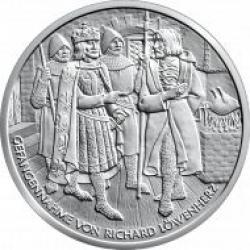 10 euro - Ryszard Lwie Serce w Dürnstein