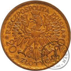 20 złotych - Chrobry - brąz