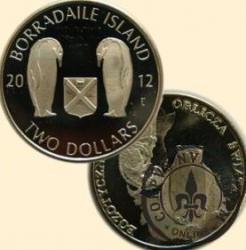 TWO DOLLARS / BORRADAILE ISLAND (alpaka)