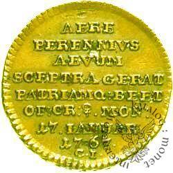trojak - 17 IANUAR - złoto