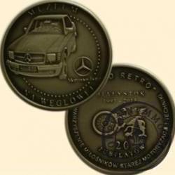 20 jubilatów / MERCEDES-BENZ 500 SEC W126 - Ślicznotka (III emisja - alpaka oksydowana)