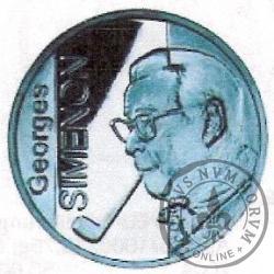 10 euro - 100 rocznica urodzin Georges  Simenon
