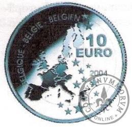 10 euro - 75 lat przygód Tintina