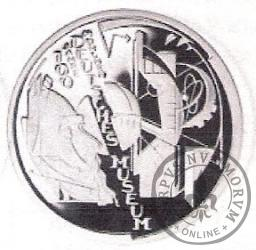 10 euro -  100 lecie Muzeum Niemieckiego w Monachium