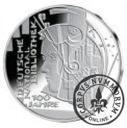 10 euro -  100 lat Niemieckiej Biblioteki Narodowej