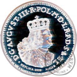 Ort elbląski 1763 - replika Ag