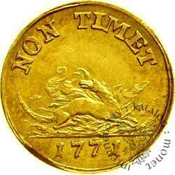 półzłotek - SAR drukowany - złoto
