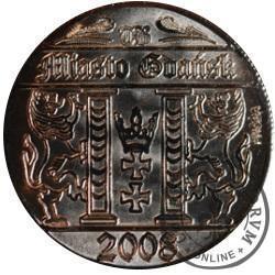 5 guldenów gdańskich (Au - próba)