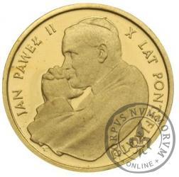 1000 złotych - Jan Paweł II - X lat pontyfikatu
