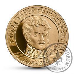 2 złote - książę Józef Poniatowski