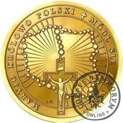 Matka Boska Licheńska (golden nordic pozłacany)