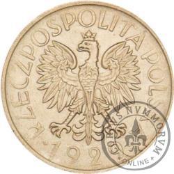 1 złoty - ornament, nikiel, bez zn. men.