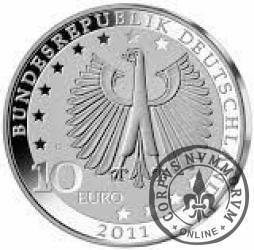 10 euro -  200 rocznica urodzin Franza Liszta