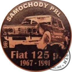 20 zmotoryzowanych (FIAT 125p) / WZORZEC PRODUKCYJNY DLA MONETY (miedź patynowana)