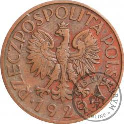1 złoty - ornament, brąz
